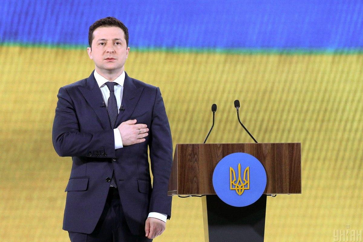 По словам президента, Украина не хочет войны, но к ней готова \ фото УНИАН