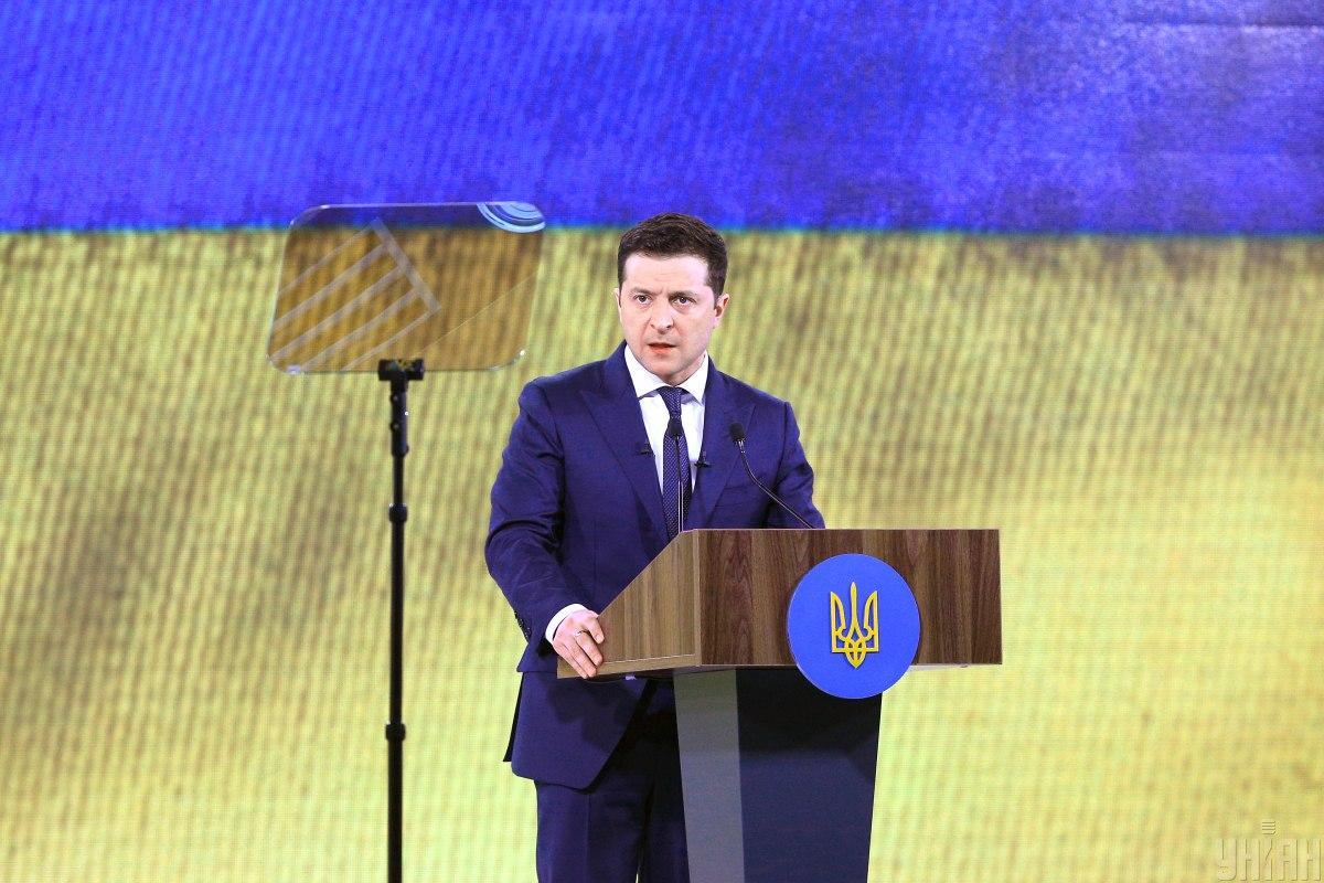 В частности, Зеленский отметил важность поддержки со стороны Литвы европейских и евроатлантических стремлений Украины / фото УНИАН / Ковальчук Виктор