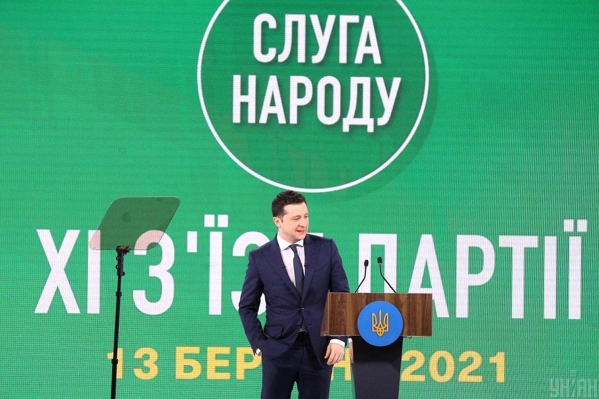 Зеленский все еще возглавляет президенский рейтинг / фото УНИАН / Ковальчук Виктор