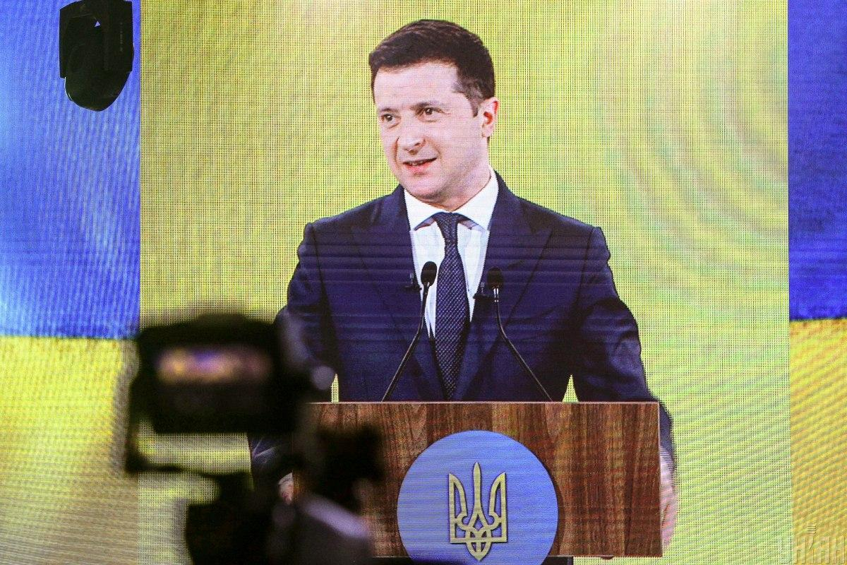 Зеленский выступит на форуме «Украина 30» 11 мая / фото УНИАН Ковальчук Виктор
