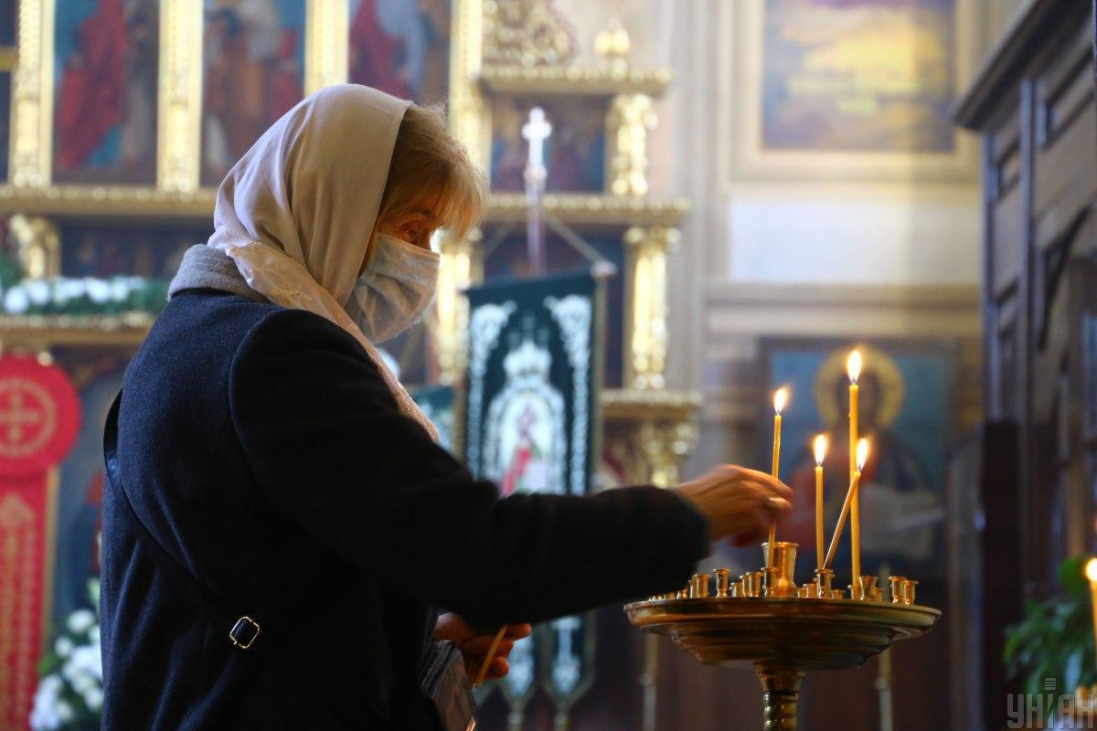 Заборона на богослужіння у храмах міста запроваджується з 8 квітня / фото УНІАН, Денис Прядко