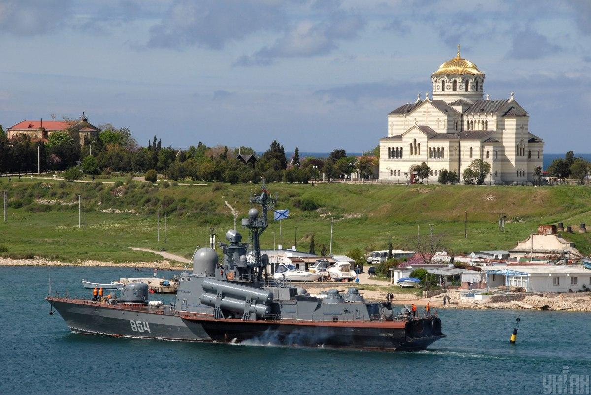 Росія забирає собі майже всі кораблі Чорноморського флоту / фото УНІАН, Олександр Юрченко