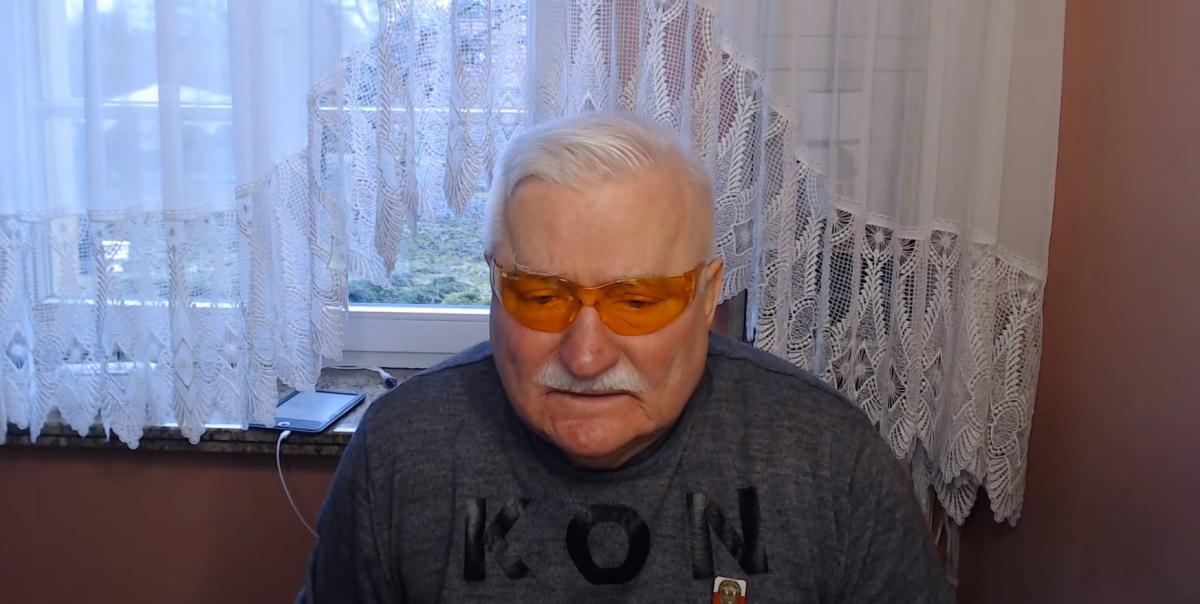 Лех Валенса готовится к операции на сердце/ скриншот из видео