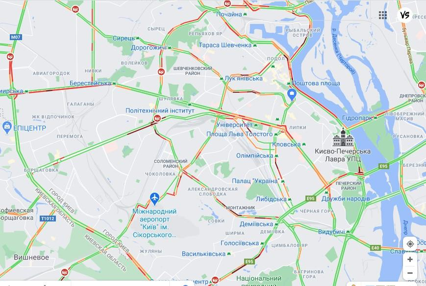 Дані google.com.ua/maps