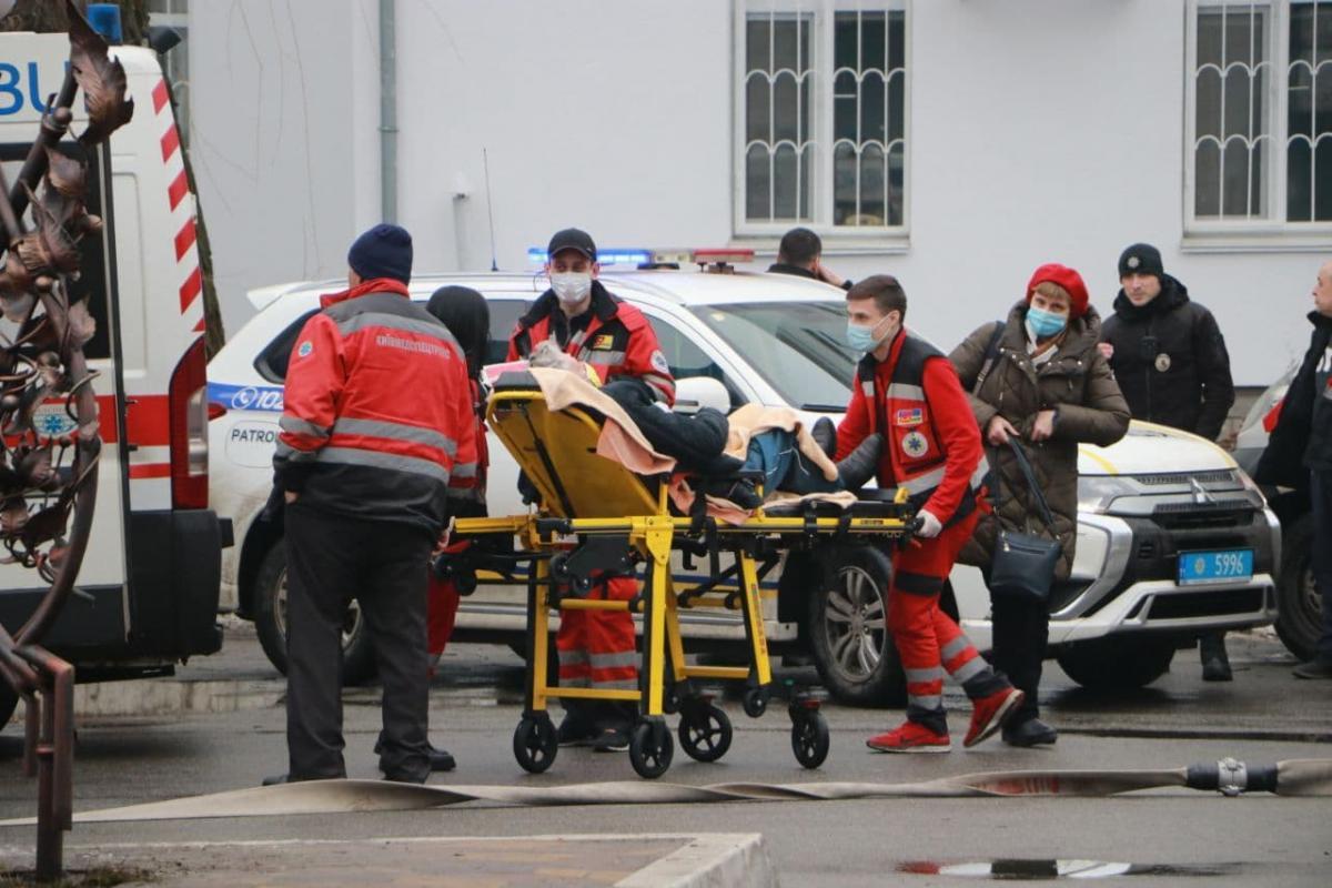 Жертв та постраждалих внаслідок пожежі немає / фото ДСНС