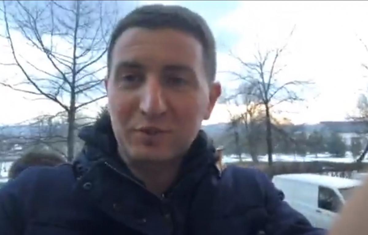 Блогера задержали / скриншот из видео