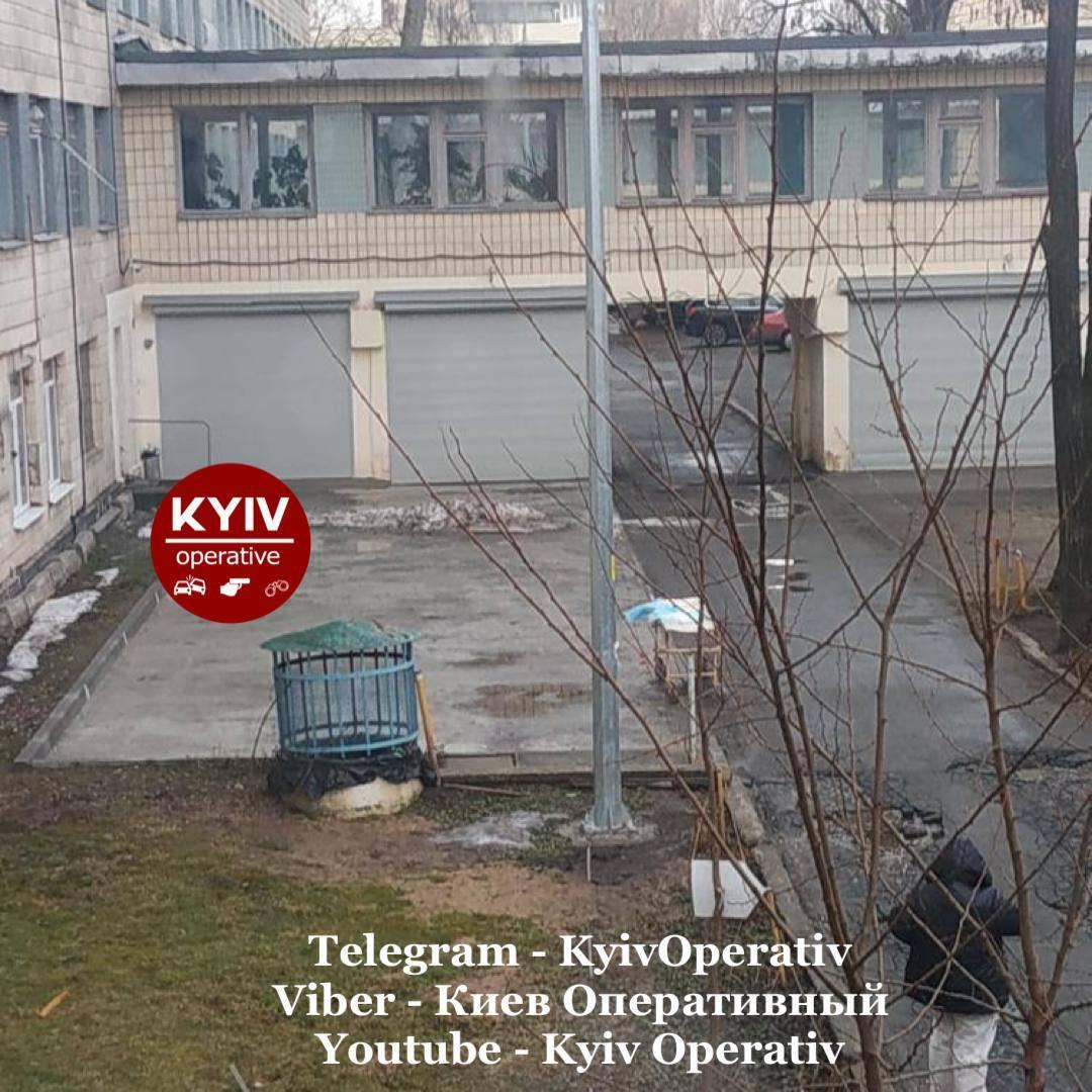 Спасти женщину не удалось / фото Киев Оперативный Facebook
