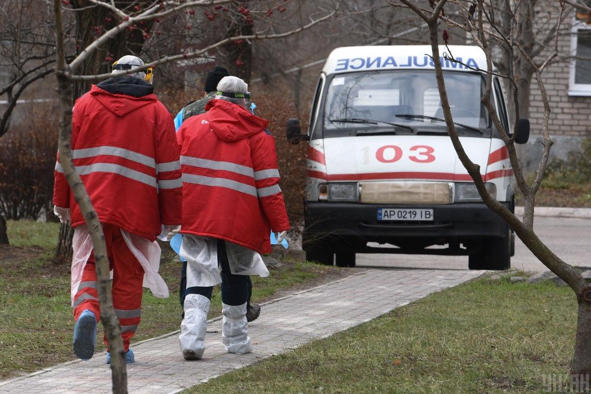 Также в городе есть проблемы с госпитализацией больных \ фото УНИАН