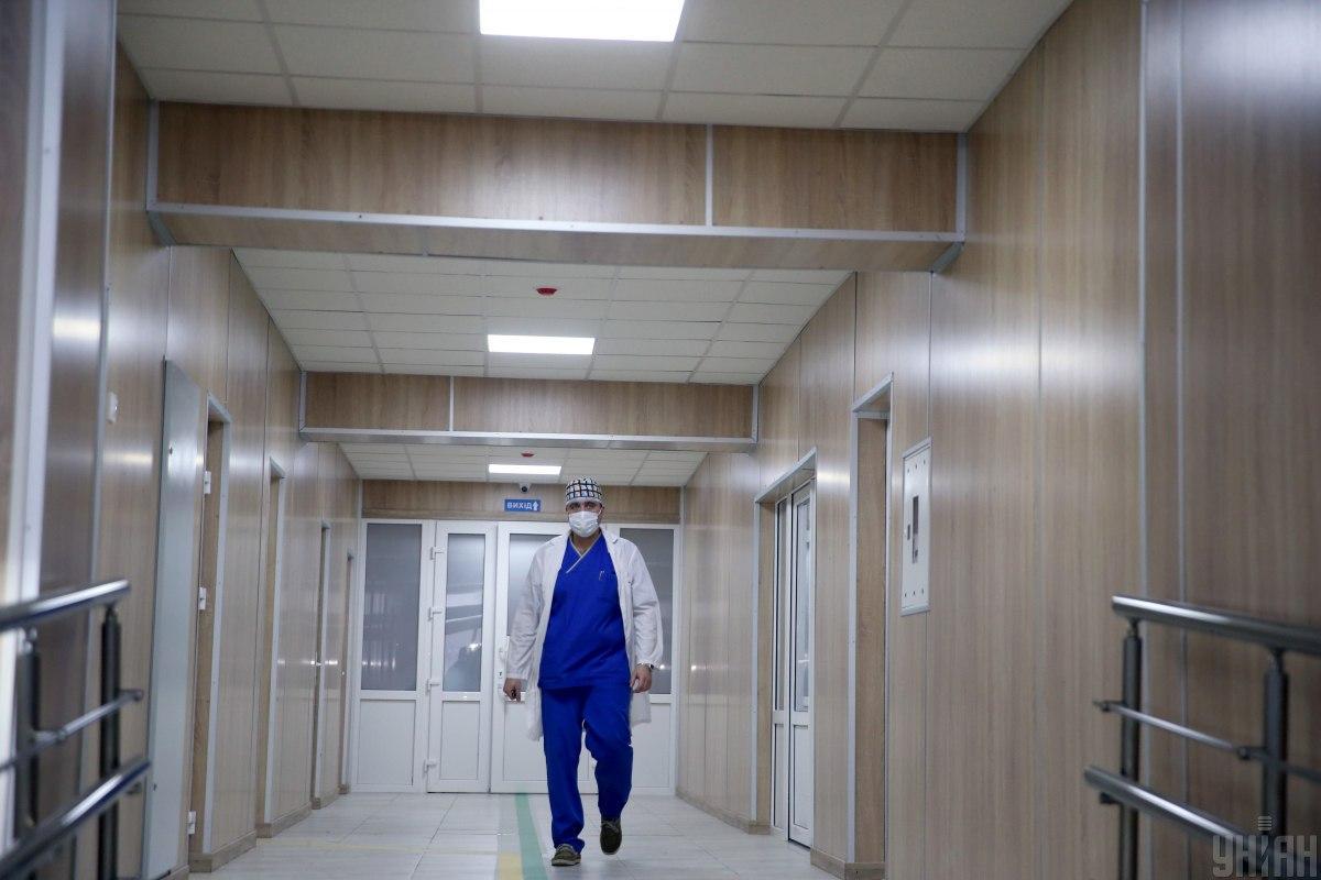 В столице увеличивается количество госпитализированных пациентов / фото УНИАН