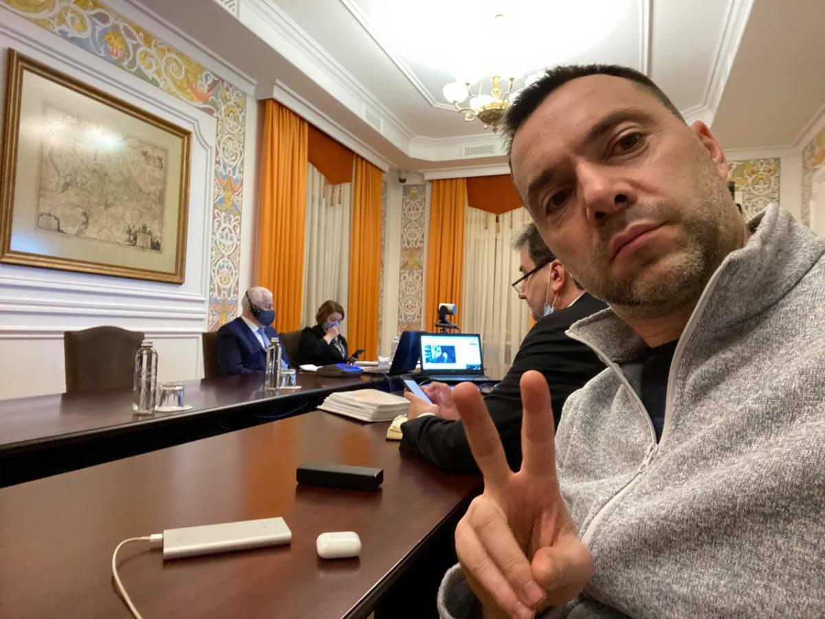 Відбулися чергові переговори ТКГ по Донбасу/ фото facebook.com/alexey.arestovich