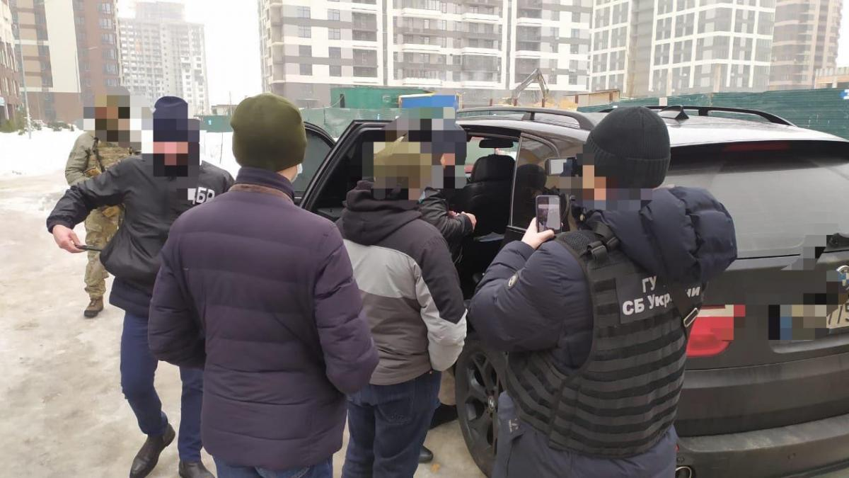 Сотрудник СБУ похитил человека / фото gp.gov.ua