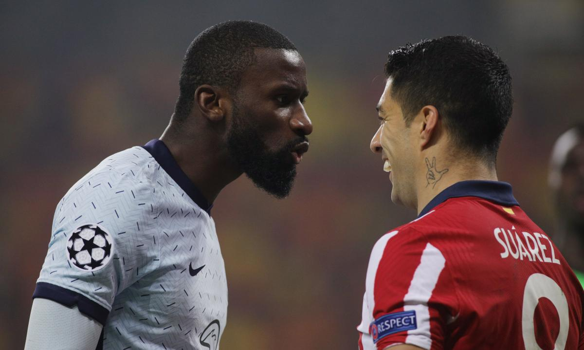 В первом матче Атлетико не смог забить Челси / фото REUTERS