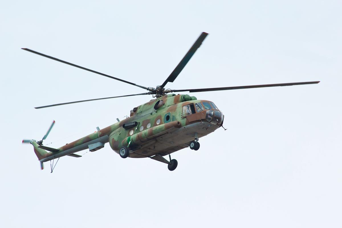 Российский вертолет нарушил воздушную границу Украины / фото ua.depositphotos.com