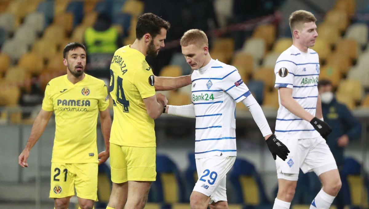 Динамо проиграло испанцам в первом матче / фото REUTERS