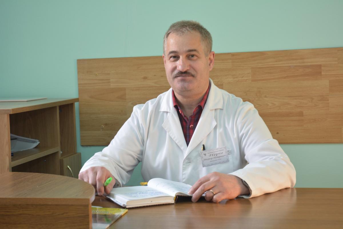 Лікар Віктор Періг відповів на низку гострих питань про COVID та вакцинацію / фото з сайту поліклініки