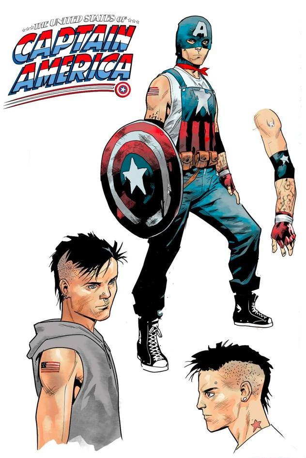 Новый Капитан Америка будет геем / фото buro