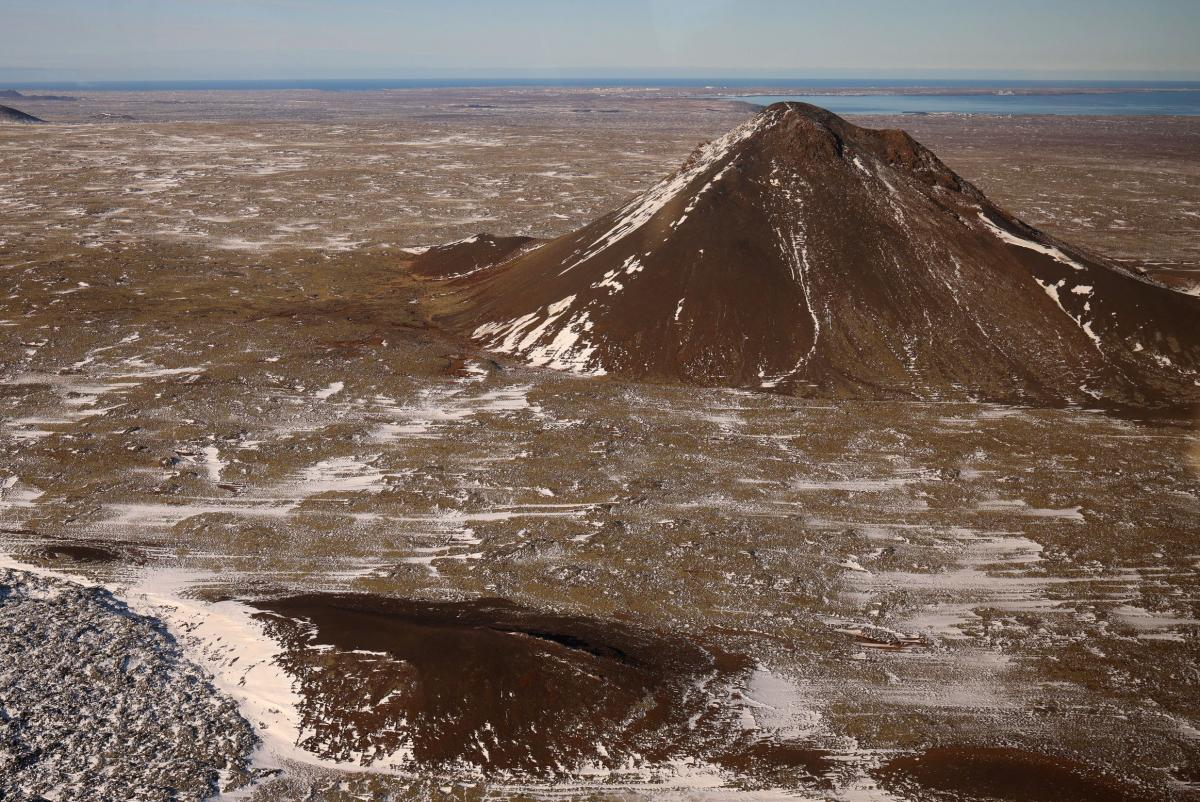 Кейлер - зона сейсмической активности в Исландии / Фото REUTERS