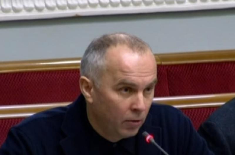 Скриншот из выступления Шуфрича на заседании Рады 17 марта