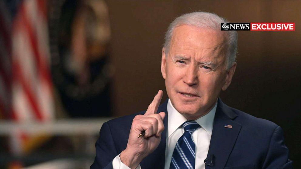 """США объявит о """"невиданных"""" санкциях против России уже в четверг / на фото – президент США Джо Байден, abcnews"""