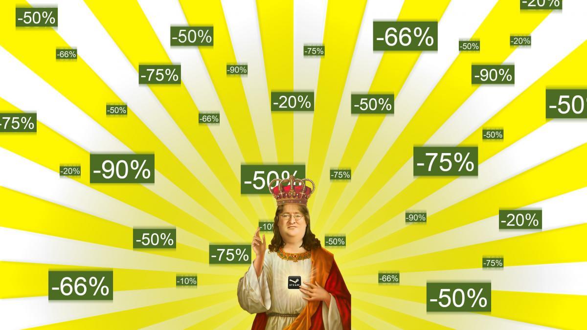 Steam славится своими щедрыми распродажами /фото reddit.com