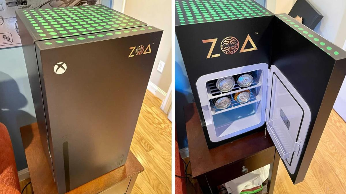 Мини-холодильник в стиле Xbox Series X /фото videogameschronicle.com