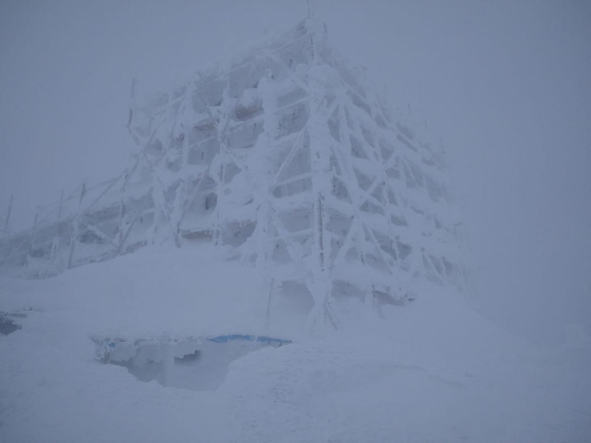 В горах метет метель / Фото facebook.com/chornogora.rescue112