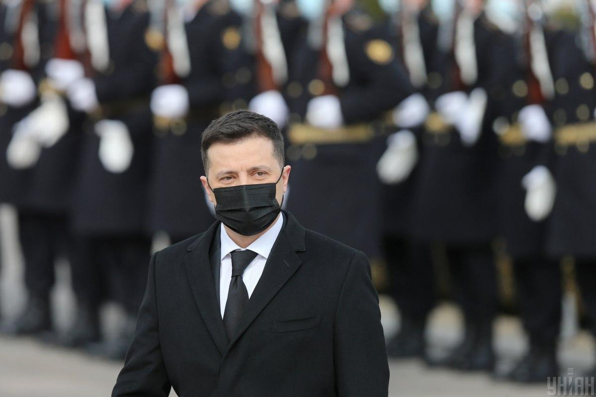 Zelensky on Russia's military buildup: 'They want the West to be frightened' / Photo from UNIAN