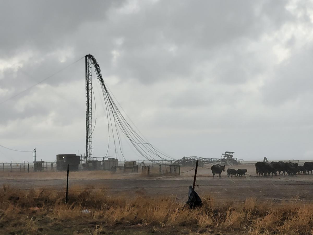 Шторми, град і торнадо торкнулися Південної рівнини і південного східу \ Фото twitter.com/magmamage