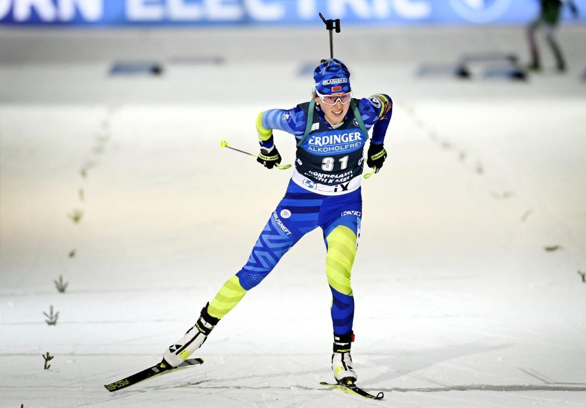 Олимпийская чемпионка из Беларуси Динара Алимбекова в женском зачете занимает 7-ю строчку / фото REUTERS