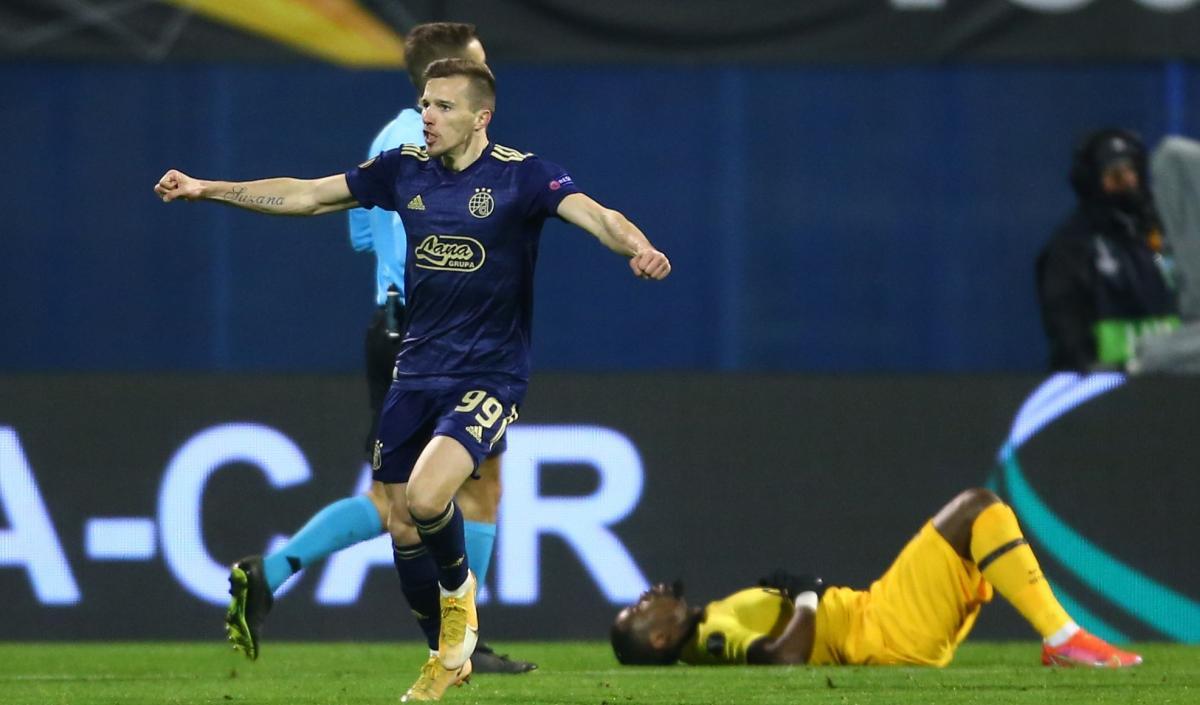 Динамо Загреб сенсационно выбило Тоттенхэм / фото REUTERS
