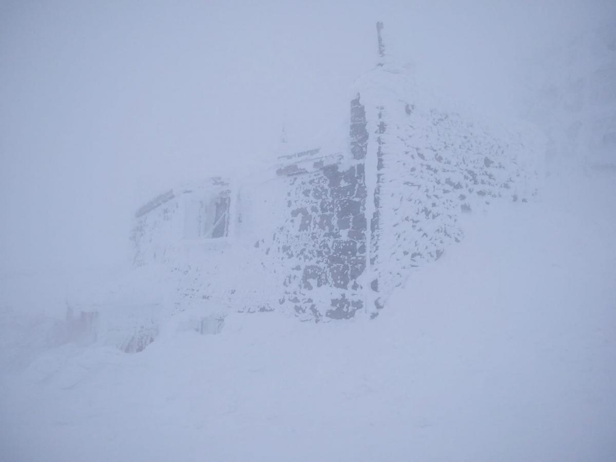В горах - метель / Фото facebook.com/chornogora.rescue112