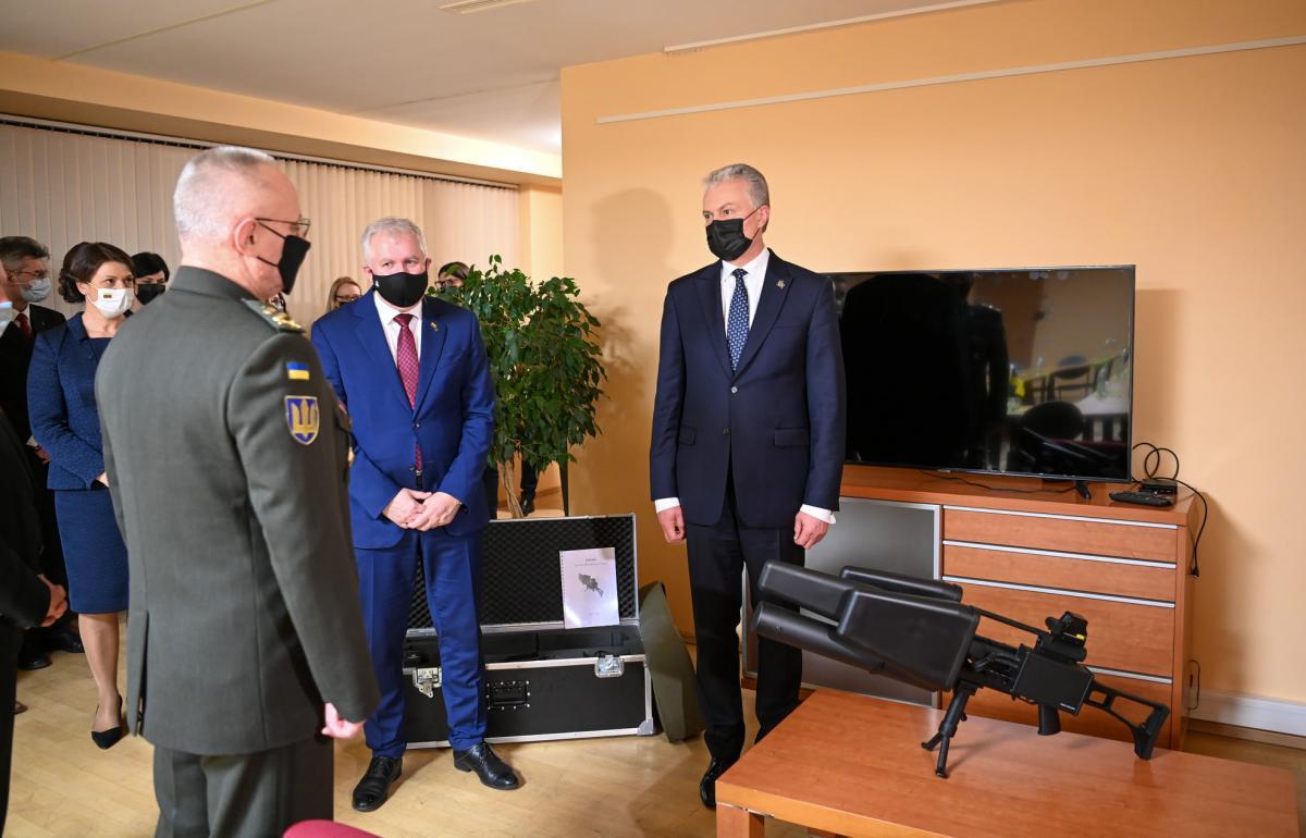 «Ловец дронов» обещают передать одной из бригад украинских военных / фото facebook.com/nausedagitanas