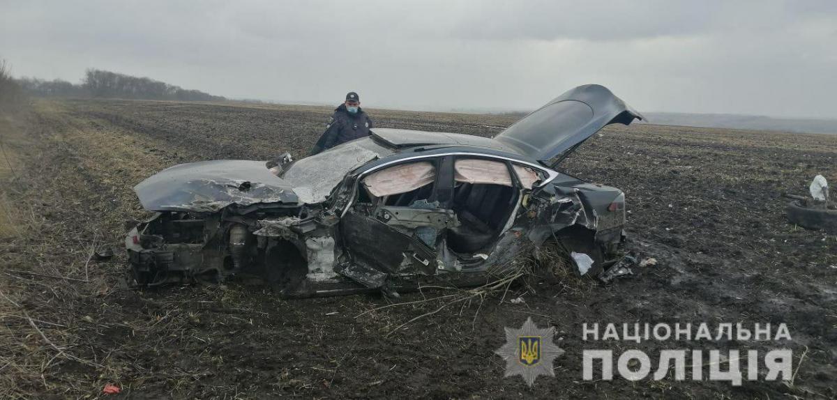 Все обстоятельства аварии устанавливаются / фото Нацполиция
