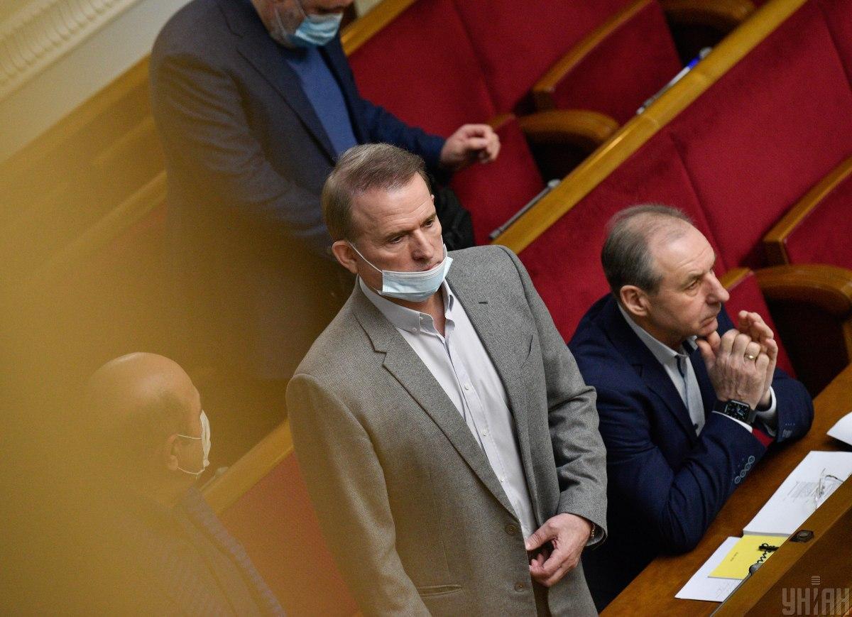 Медведчука подозревают в госизмене / Фото УНИАН, Максим Полищук