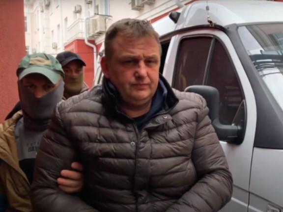 Затриманийв Криму Владислав Єсипенко / скріншот з відеоYouTube