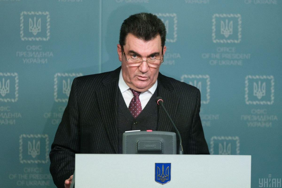 """Данілов: Україна продовжує бути """"форпостом для всієї Європи"""" / фото УНІАН"""