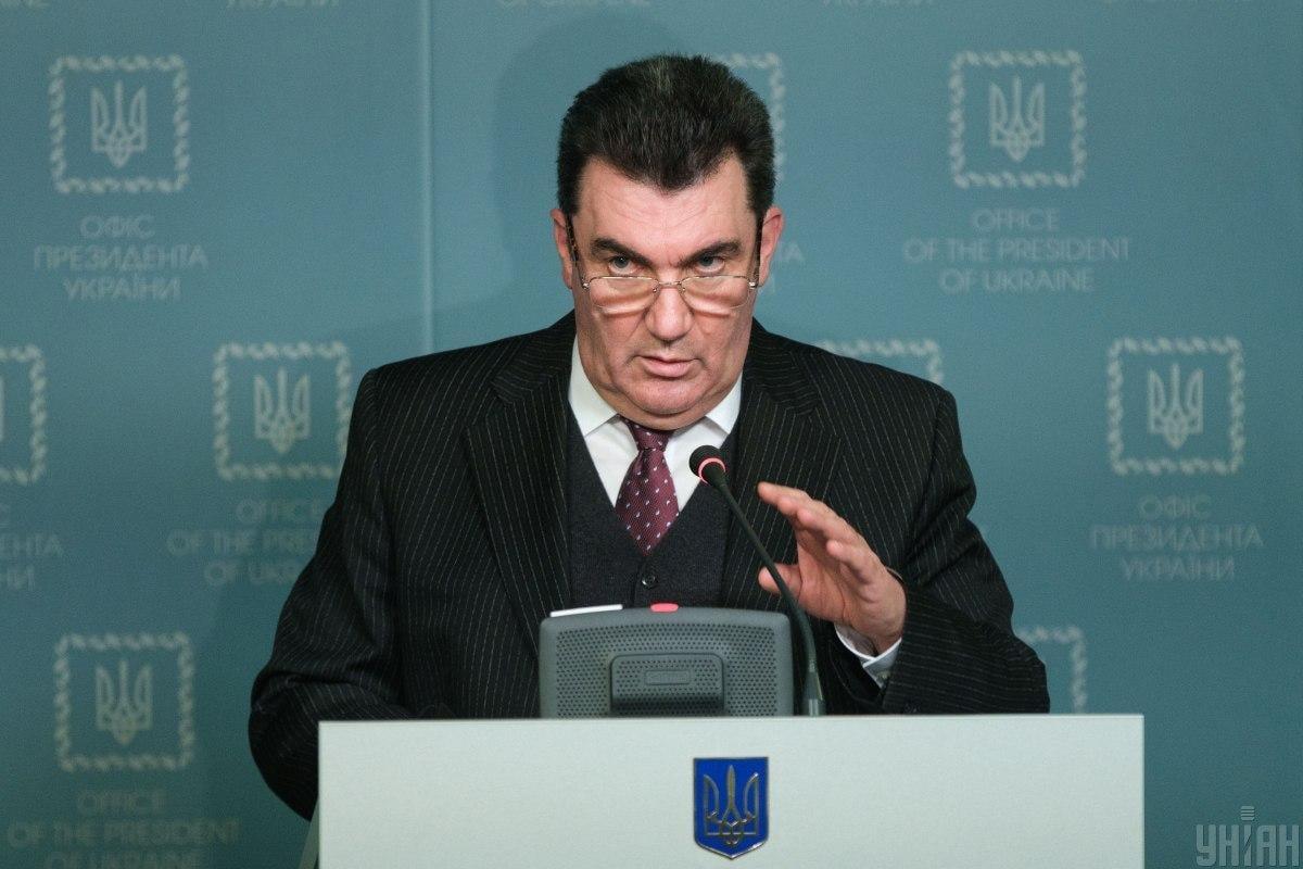 Данилов: СНБО разрабатывает различные сценарии реагирования на действия РФ / фото УНИАН