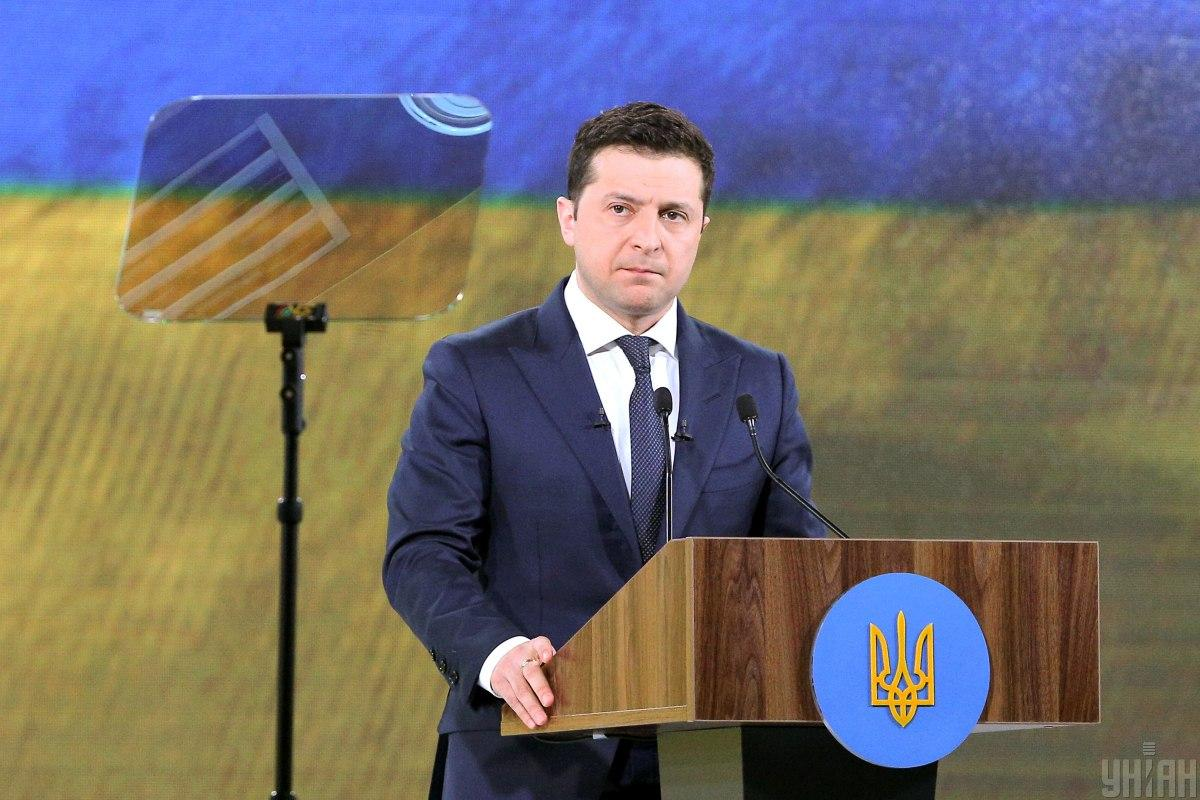Zelensky cautioned the situation remained dangerous / Photo from UNIAN