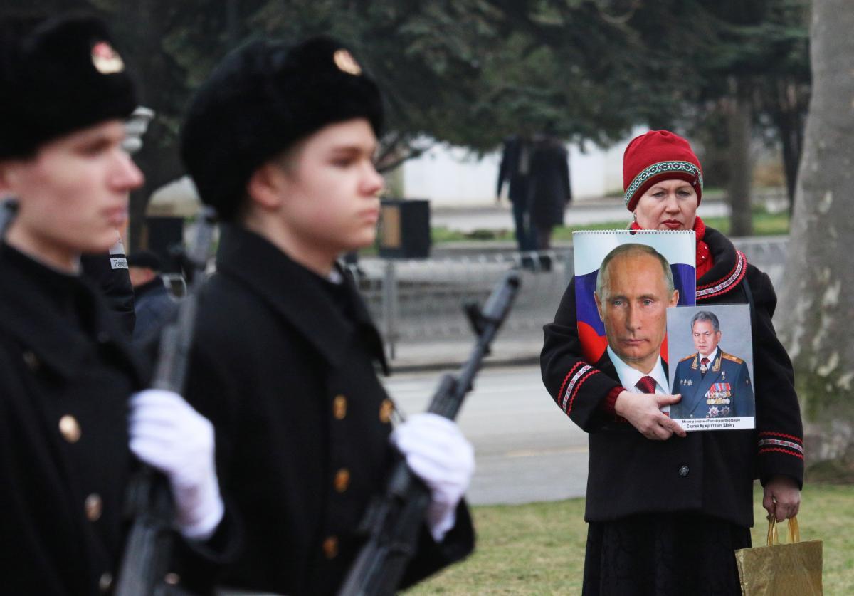 Земля в Крыму - Путин запретил украинцам владеть землей в Крыму / REUTERS