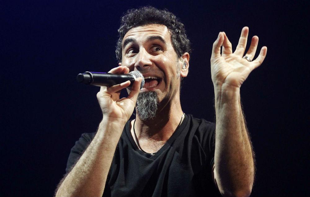 Серж Танкян / фото nme.com