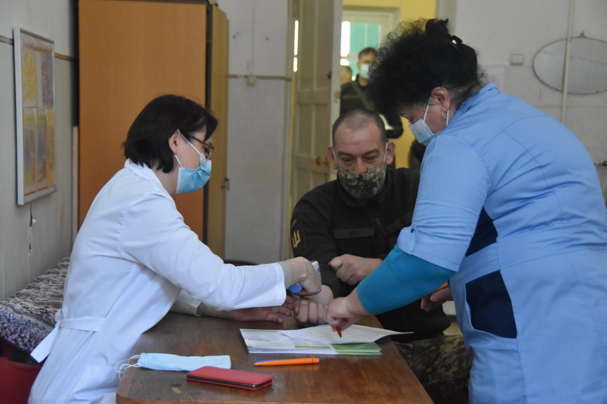 Для украинцев откроют центры массовой вакцинации / фото mil.gov.ua