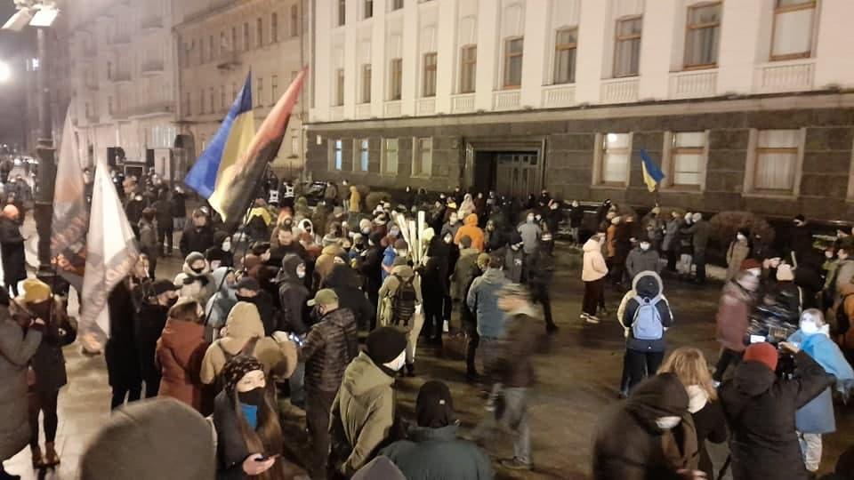 Акція на підтримку Стерненка в Києві 20 березня / фото УНІАН, Дмитро Хилюк