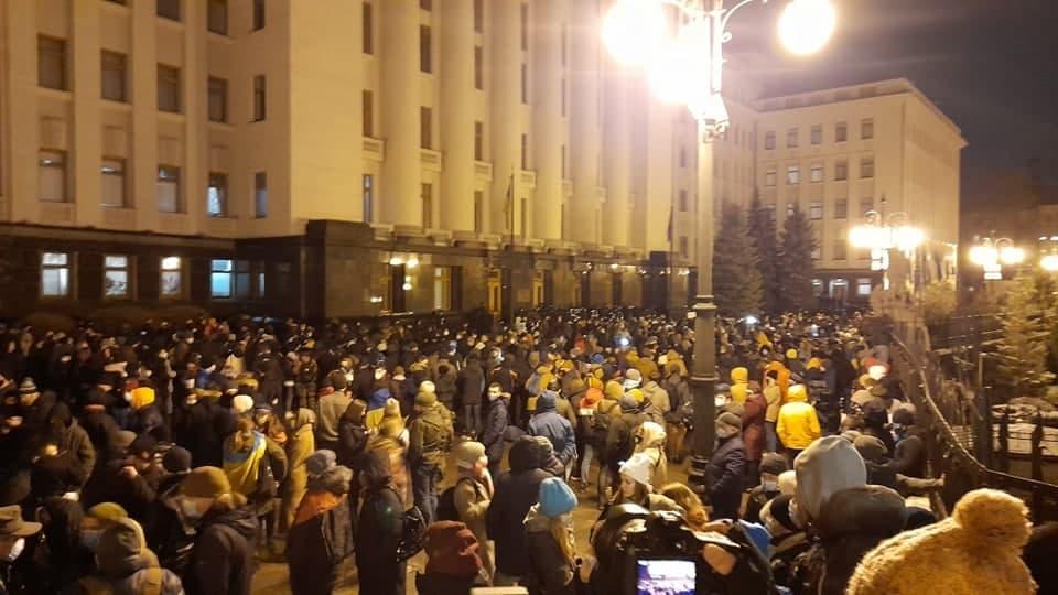 Акция в поддержку Стерненко в Киеве 20 марта / фото УНИАН, Дмитрий Хилюк