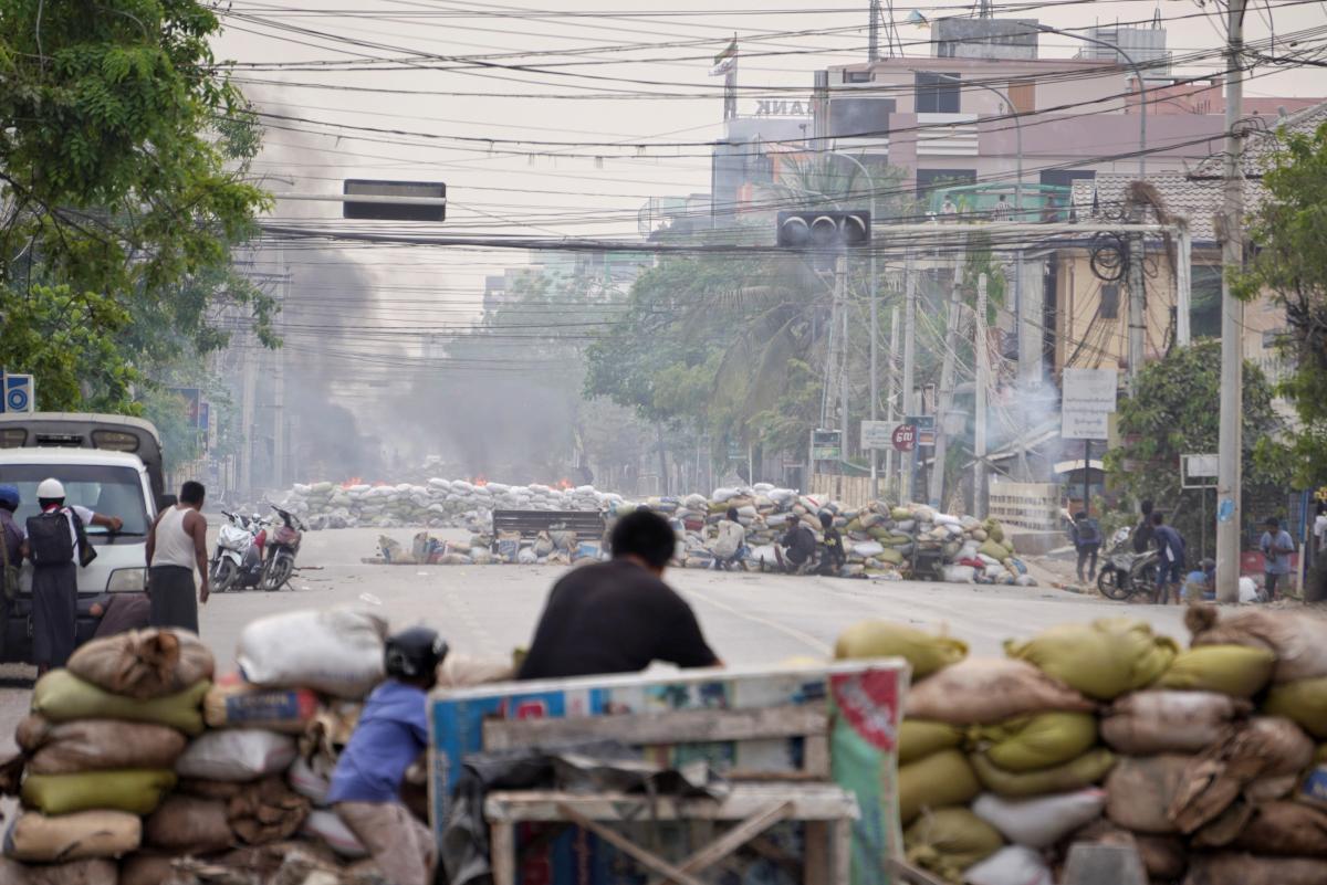 1 февраля 2021 года военные Мьянмы захватили власть / фото REUTERS
