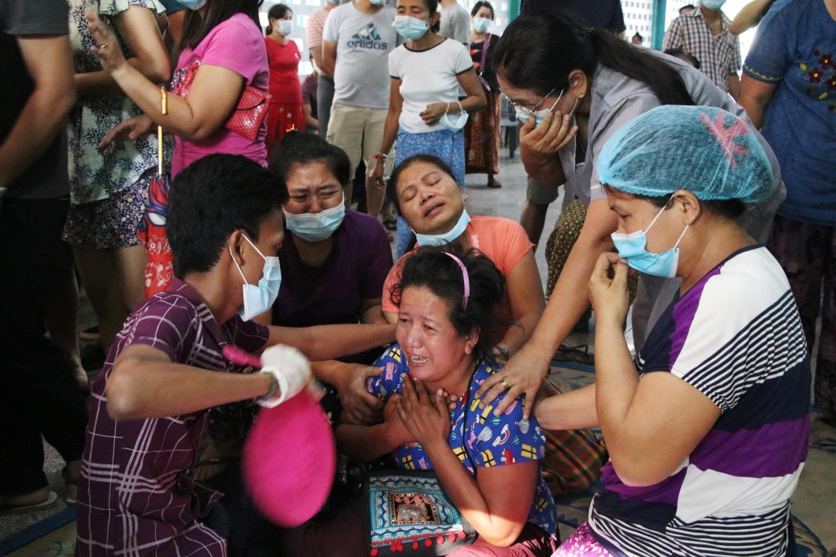 В Мьянме 1 февраля произошел государственный переворот / фото REUTERS