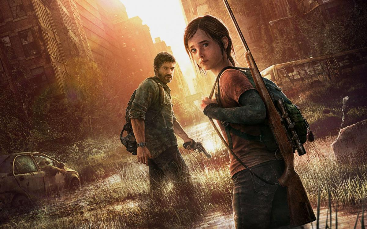 Джоэл и Элли в The Last of Us /фото Naughty Dog