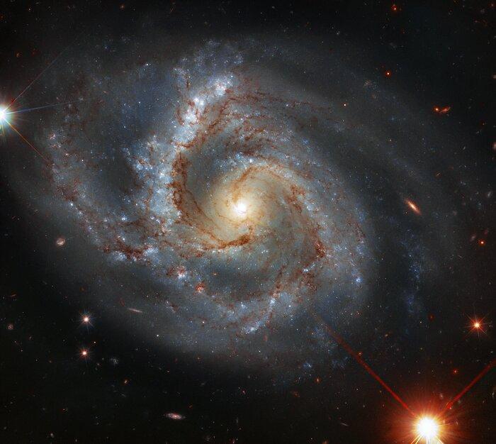 Уникальная галактика находится в созвездии Пегаса / фото ESA/Hubble & NASA, A. Riess
