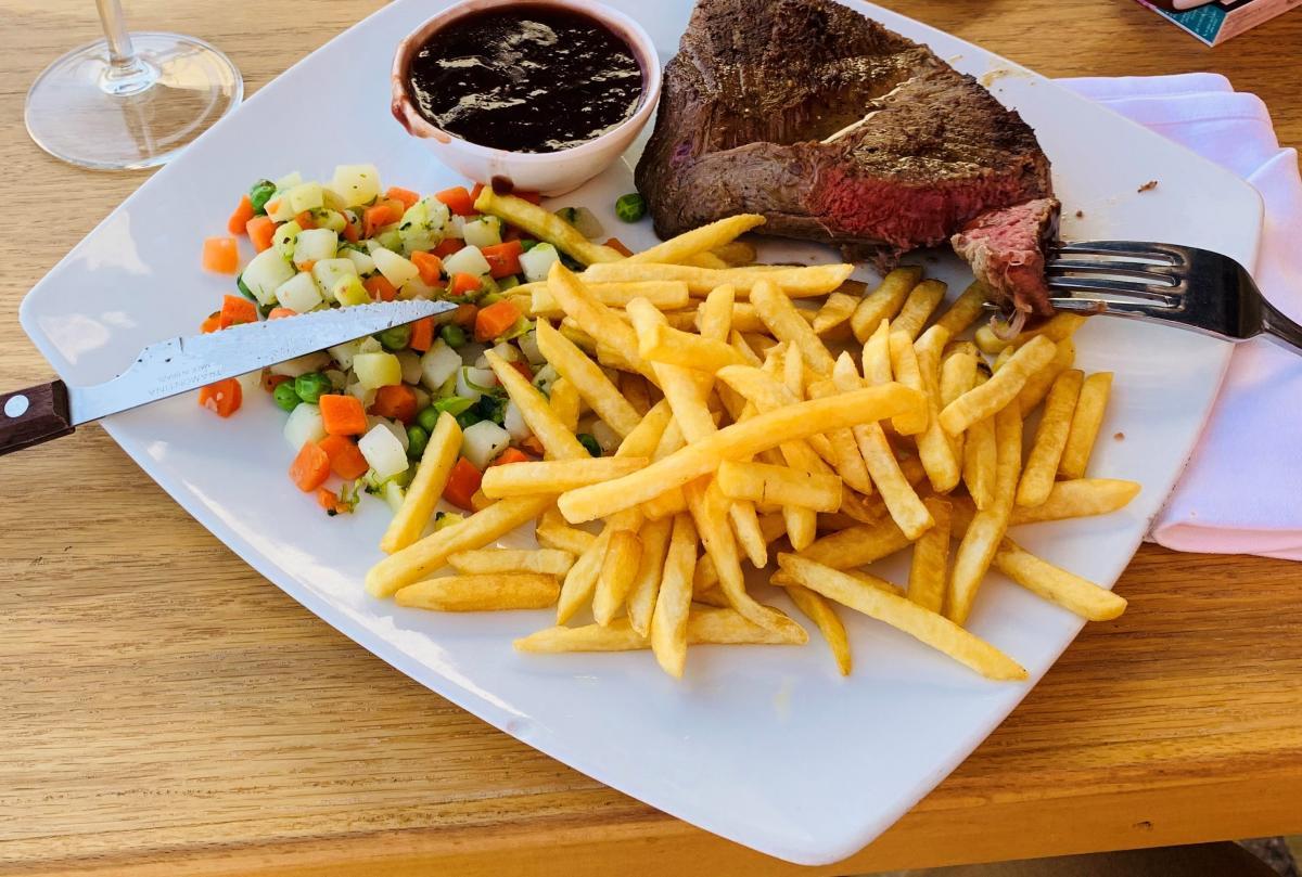 Рекомендованная степень прожарки: medium rare. Bonne Appetite! / фото автора