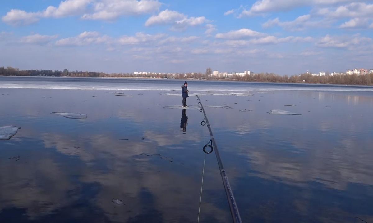 Рибалка не вважає свій вчинок подвигом/ скріншот з відео