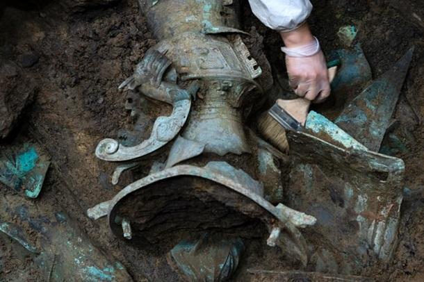 Найденные вещи смогут помочь в исследовании истории древнего царства Шу/ фото Sipa USA